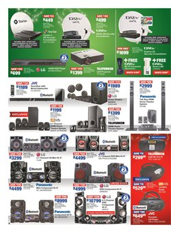 Computers & electronics offers in the OK Furniture catalogue in Cape Town
