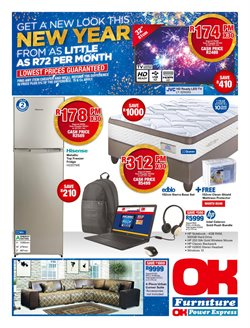 Home & Furniture offers in the OK Furniture catalogue in Oudtshoorn