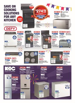 Kitchen offers in the OK Furniture catalogue in Cape Town