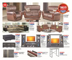 Sofa offers in the OK Furniture catalogue in Cape Town