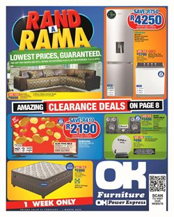 Hisense specials in OK Furniture