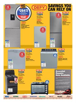 Chest freezer specials in OK Furniture