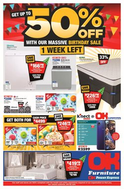 Home & Furniture offers in the OK Furniture catalogue in Roodepoort ( 2 days left )
