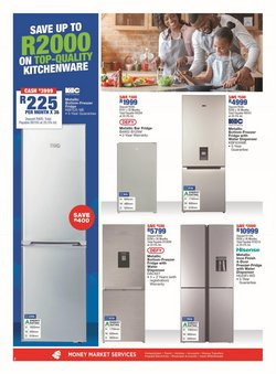 Kitchen units specials in OK Furniture