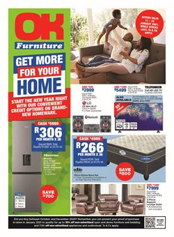 New specials in OK Furniture