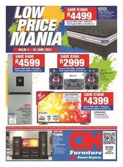 Home & Furniture offers in the OK Furniture catalogue ( 3 days left)