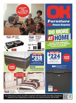 Home & Furniture offers in the OK Furniture catalogue ( Expires today)