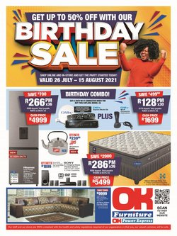 Home & Furniture offers in the OK Furniture catalogue ( 15 days left)