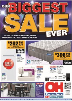 Home & Furniture offers in the OK Furniture catalogue ( Expires tomorrow)