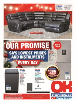 Home & Furniture offers in the OK Furniture catalogue ( 9 days left)