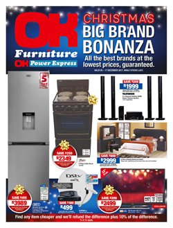 Home & Furniture offers in the OK Furniture catalogue in Cape Town