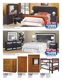 Multi-use wardrobe offers in the OK Furniture catalogue in Cape Town