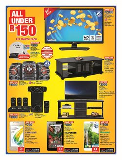 Phones offers in the OK Furniture catalogue in Cape Town