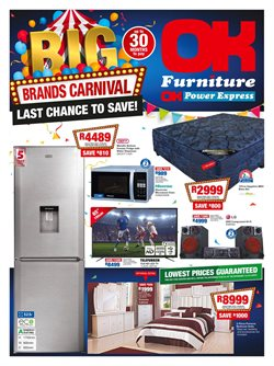 OK Furniture deals in the Kimberley special