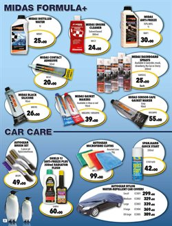 Calculator offers in the Midas catalogue in Cape Town