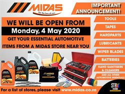 Midas catalogue ( Expired )