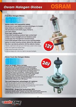 Headlights offers in the AutoZone catalogue in Cape Town