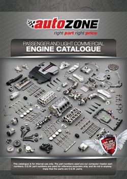 Cars, Motorcycles & Spares offers in the AutoZone catalogue in Somerset West