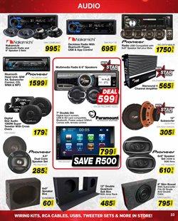 Pioneer specials in AutoZone