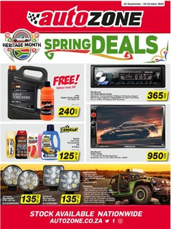 Cars, Motorcycles & Spares offers in the AutoZone catalogue ( 3 days left )