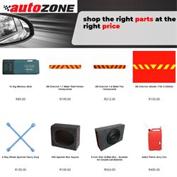 Cars, Motorcycles & Spares offers in the AutoZone catalogue in Pretoria ( 18 days left )