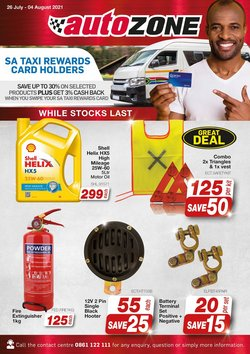 Cars, Motorcycles & Spares offers in the AutoZone catalogue ( 4 days left)