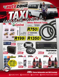 AutoZone deals in the Cape Town special