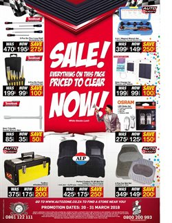 Lamp offers in the AutoZone catalogue in Cape Town