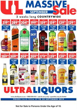 Ultra Liquors deals in the Soweto special