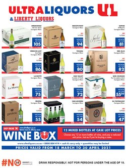 Ultra Liquors catalogue ( 7 days left )
