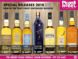 Picardi Rebel deals in the Cape Town special