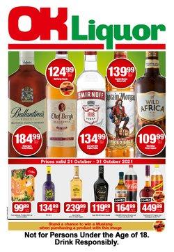 OK Liquor offers in the OK Liquor catalogue ( 5 days left)