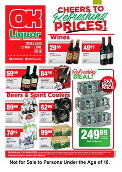 Pens offers in the Enjoy OK Liquor Store catalogue in Cape Town