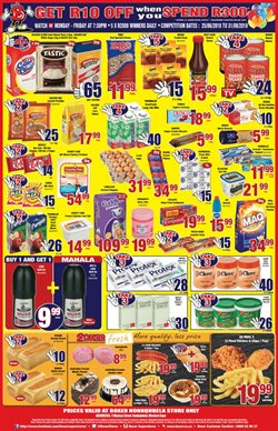 Watch offers in the Boxer Superstores catalogue in Cape Town