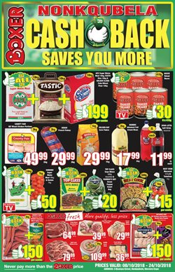 Chicken offers in the Boxer Superstores catalogue in Cape Town
