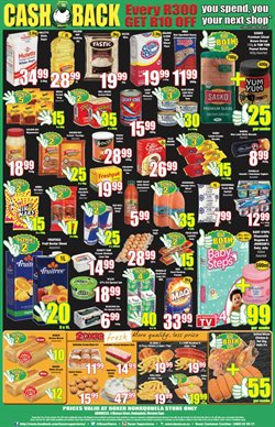 Coffee offers in the Boxer Superstores catalogue in Cape Town