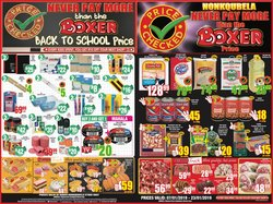Notebook offers in the Boxer Superstores catalogue in Cape Town
