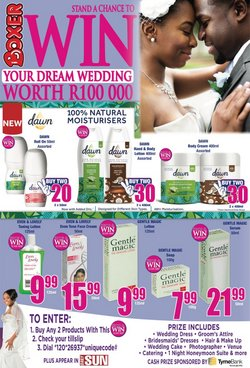 Boxer Superstores deals in the Somerset West special