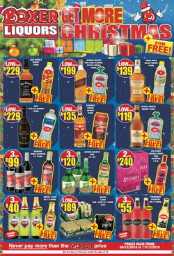 Boxer Superstores deals in the Soweto special