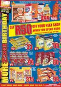 Rice, pasta and beans specials in Boxer