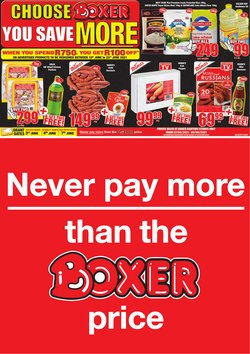 Boxer offers in the Boxer catalogue ( 10 days left)