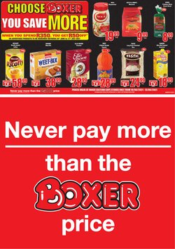 Boxer offers in the Boxer catalogue ( 13 days left)