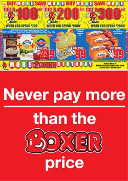 Boxer catalogue ( Published today)