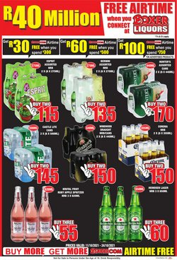 Groceries offers in the Boxer catalogue ( 2 days left)