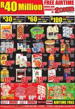 Groceries offers in the Boxer catalogue ( Expires today)