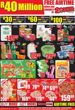 Groceries offers in the Boxer catalogue ( Expires tomorrow)