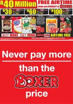 Boxer catalogue ( 2 days left)