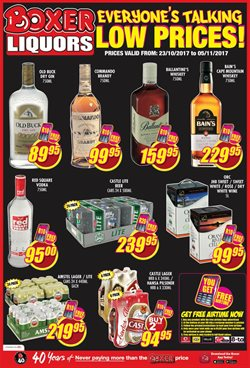Roses offers in the Boxer Superstores catalogue in Cape Town