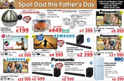 Electricals & Home Appliances offers in the Tafelberg Furnishers catalogue in Khayelitsha