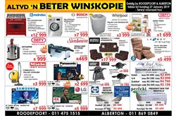 Electricals & Home Appliances offers in the Tafelberg Furnishers catalogue in Johannesburg